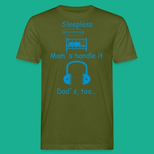 Sleepless - Männer Bio-T-Shirt