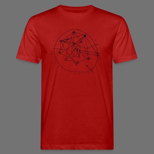 SEO strategia No.1 (musta) - Miesten luonnonmukainen t-paita