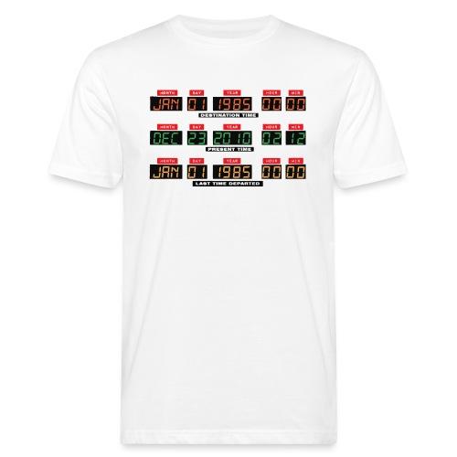 Back To The Future DeLorean Time Travel Console - Men's Organic T-Shirt