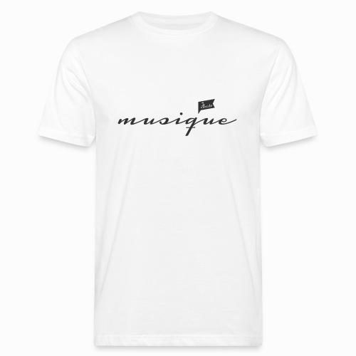 musique_französisch_2 - Männer Bio-T-Shirt