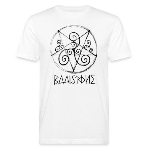 Logo and Circle - Männer Bio-T-Shirt