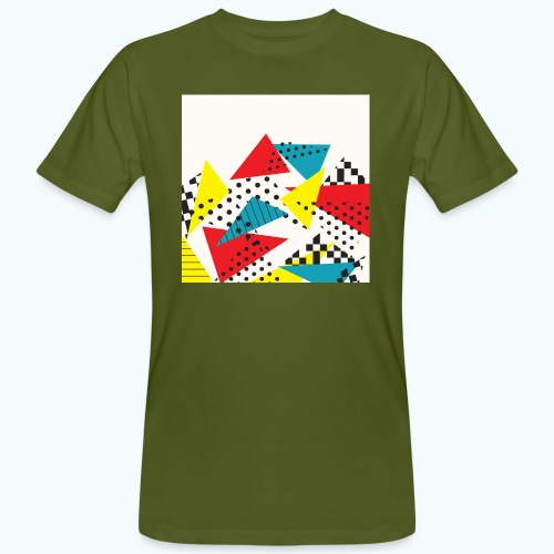Abstract vintage collage - Men's Organic T-Shirt