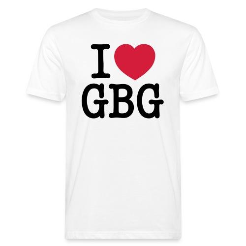 I love GBG - Ekologisk T-shirt herr