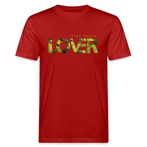 Stay Green Lover - T-shirt ecologica da uomo
