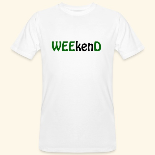 weed - Männer Bio-T-Shirt