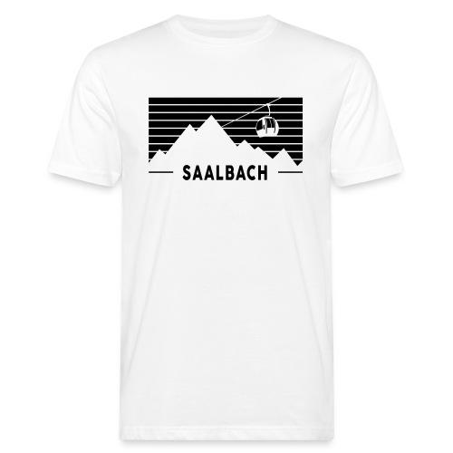 Saalbach Stripes - Mannen Bio-T-shirt