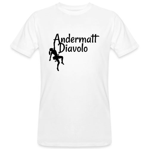 Andermatt Diavolo Uri Geschenkidee - Männer Bio-T-Shirt