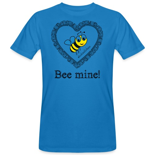 Bees3-1 save the bees | bee mine! - Men's Organic T-Shirt