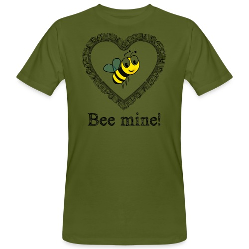 Bees3-2 save the bees | bee mine! - Men's Organic T-Shirt