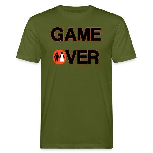 Addio al celibato - Game over rosso - T-shirt ecologica da uomo
