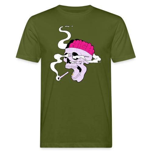 420skull - Männer Bio-T-Shirt