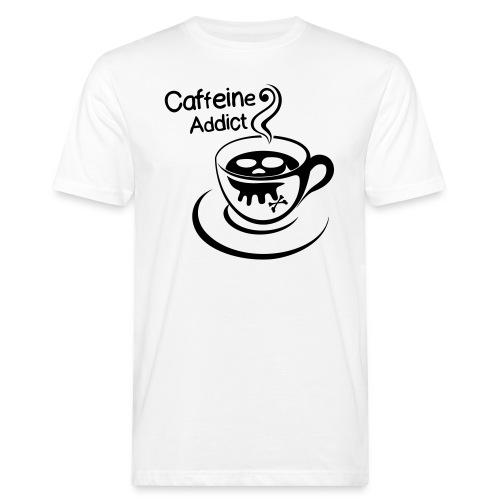 Caffeine Addict - Mannen Bio-T-shirt