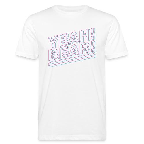 Yeah Bear Layers - Männer Bio-T-Shirt