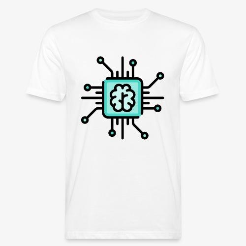 Brain chip - Men's Organic T-Shirt