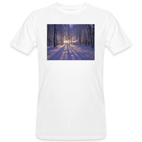Wintercollectie - Mannen Bio-T-shirt