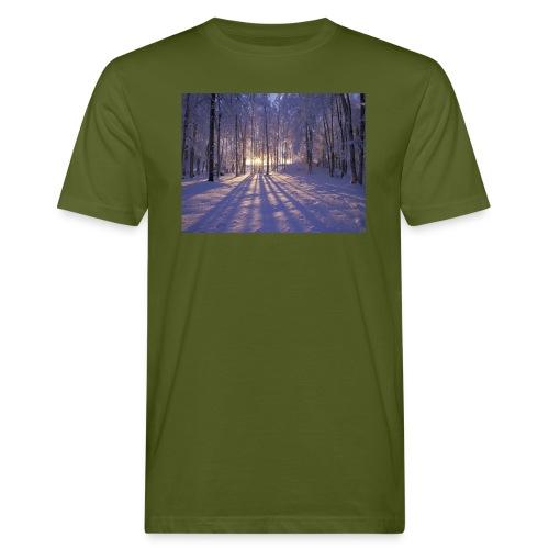 Wintercollectie - Mannen Bio-T-shirt