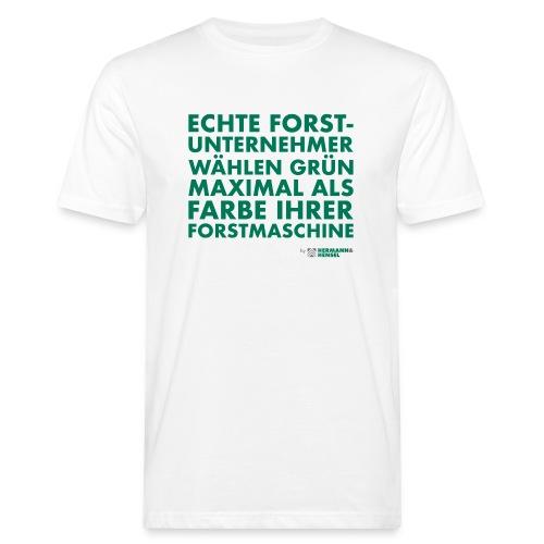 Forstunternehmer | Grün - Männer Bio-T-Shirt