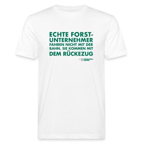 Forstunternehmer | Rückezug - Männer Bio-T-Shirt