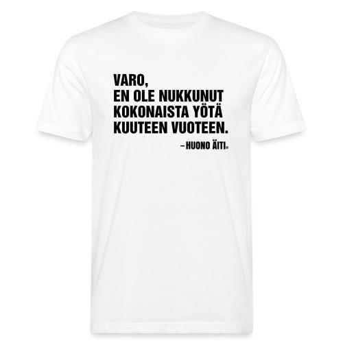 Univaje - Miesten luonnonmukainen t-paita