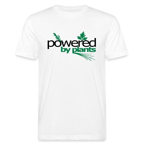 POWERED BY PLANTS - Männer Bio-T-Shirt