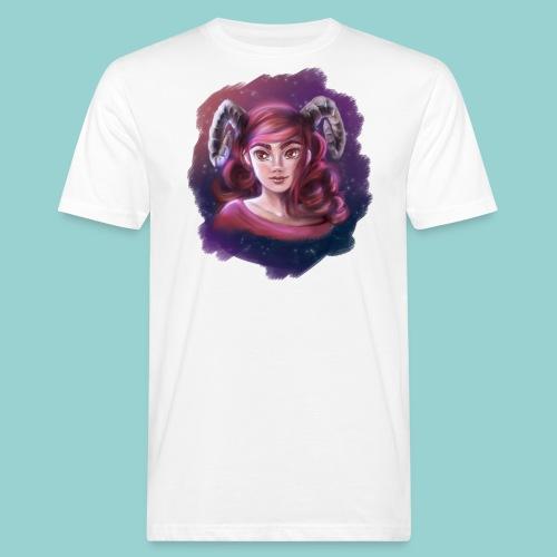 Artsy horns - Männer Bio-T-Shirt