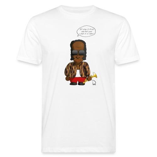 Miles Davis - Männer Bio-T-Shirt