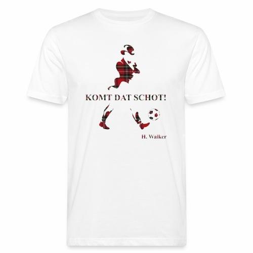 Komt dat schot! - Mannen Bio-T-shirt