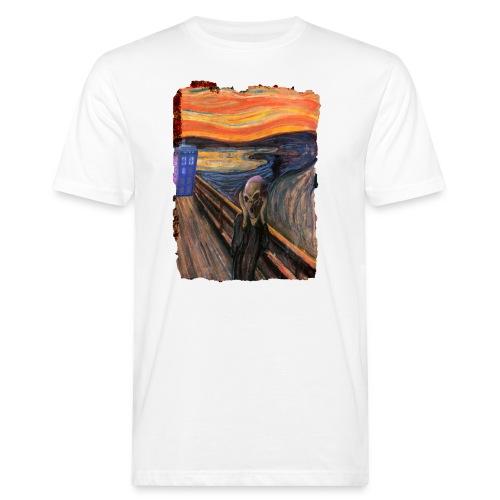 Screaming Tardis - Men's Organic T-Shirt