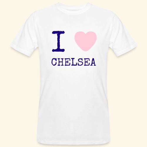 I Love Chelsea 2017 - Men's Organic T-Shirt