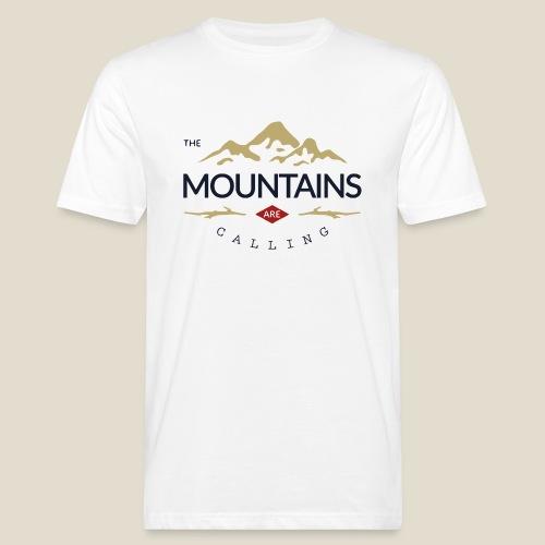 Outdoor mountain - T-shirt bio Homme