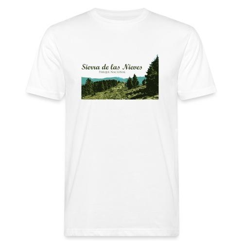 Sierra de las Nieves Parque Nacional - Camiseta ecológica hombre