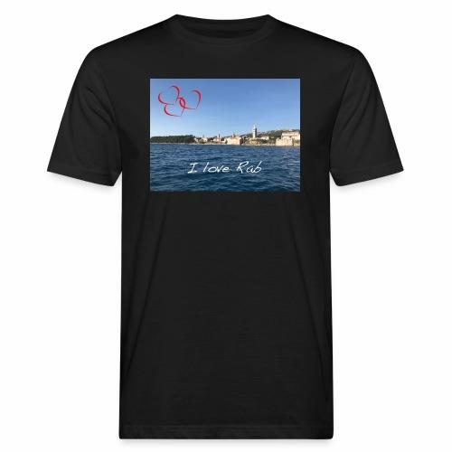 I love Rab - Männer Bio-T-Shirt