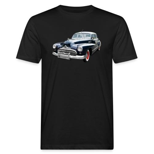Classic Car. Buick zwart. - Mannen Bio-T-shirt