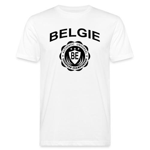 België - Mannen Bio-T-shirt