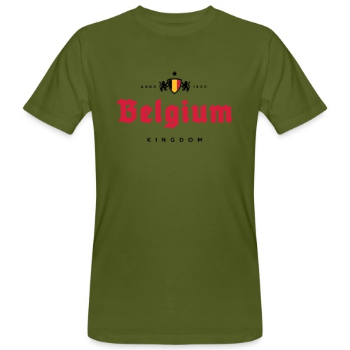 Bierre Belgique - Belgium - Belgie - T-shirt bio Homme