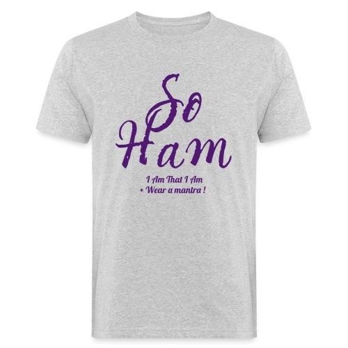 SOHAM - T-shirt ecologica da uomo