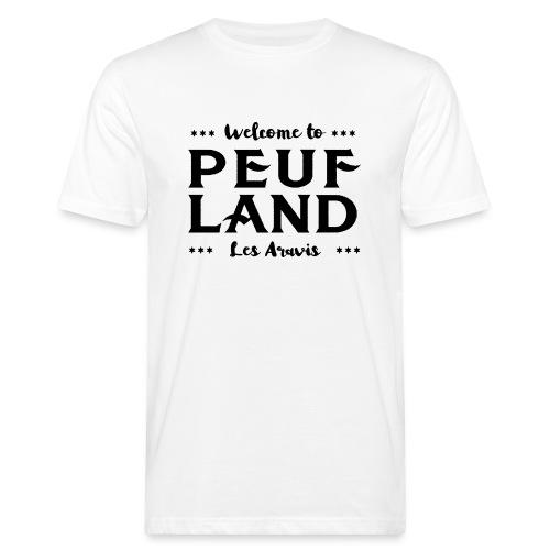 Peuf Land Aravis - Black - T-shirt bio Homme