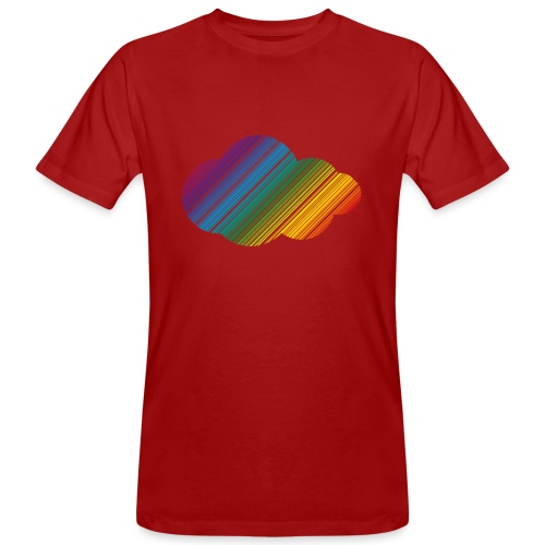 Regnbågsmoln - Ekologisk T-shirt herr