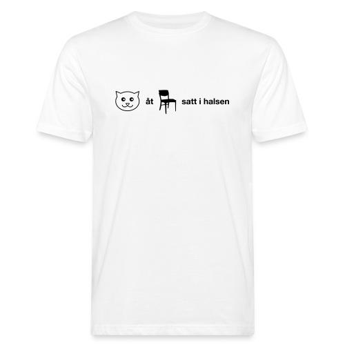 Katt åt stol - Ekologisk T-shirt herr
