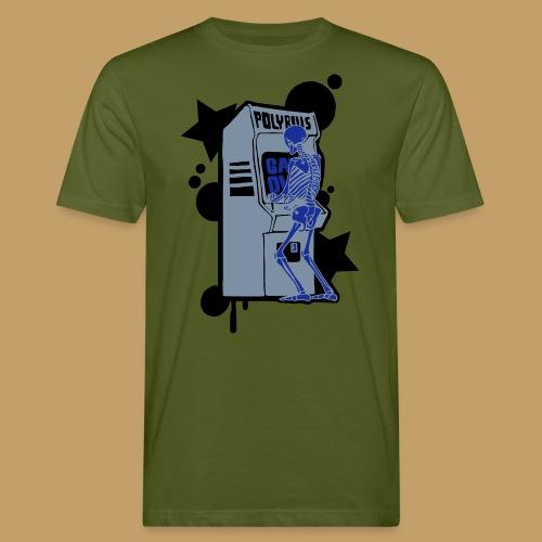 Hi-Score Silver X-ray - Ekologiczna koszulka męska