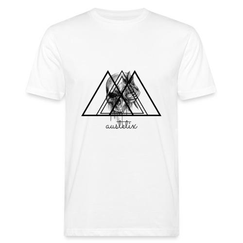 teschio - T-shirt ecologica da uomo
