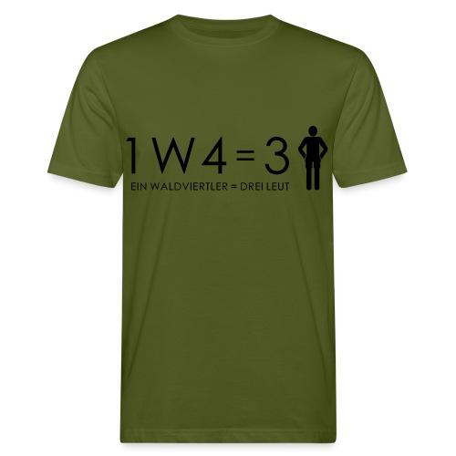 1W4 3L - Männer Bio-T-Shirt