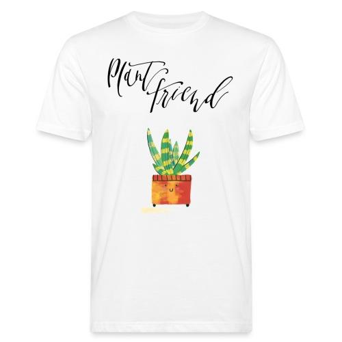 Plant Friend n°1 - Männer Bio-T-Shirt