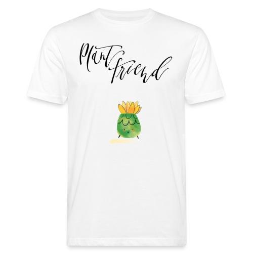 Plant Friend n°3 - Männer Bio-T-Shirt