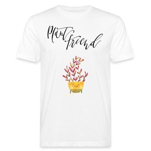 Plant Friend n°2 - Männer Bio-T-Shirt