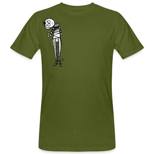 Punto di vista in bianco e nero - T-shirt ecologica da uomo