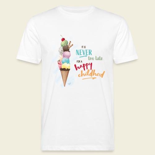 Eis - Kindheit - Männer Bio-T-Shirt