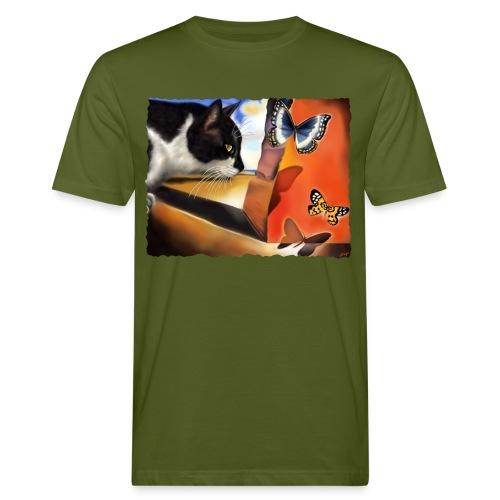 Il gatto di Dalí - T-shirt ecologica da uomo