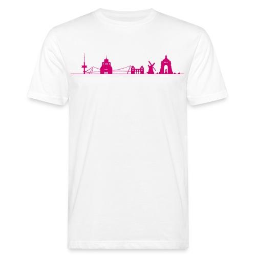 Skyline png - Männer Bio-T-Shirt