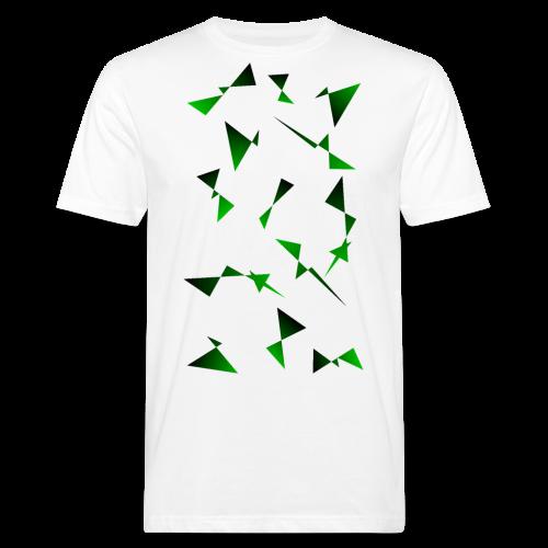 T4Y Triangle Green - Männer Bio-T-Shirt